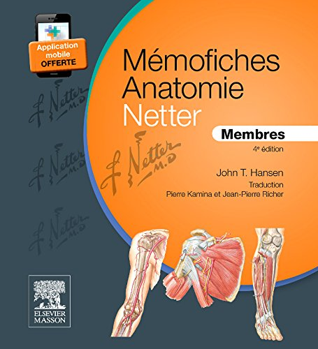Mmofiches Anatomie Netter - Membres