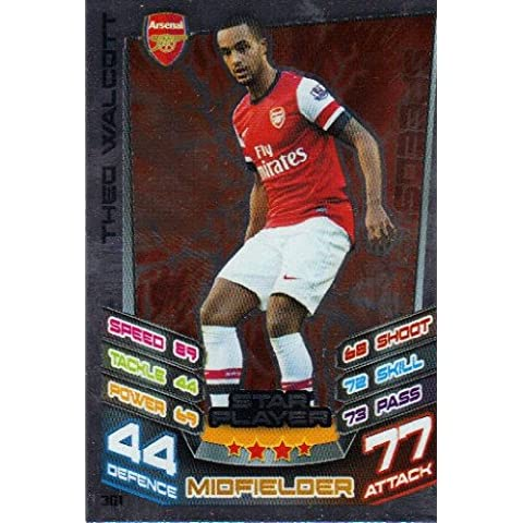 Match Attax 2012/2013 Star Player Card - 361 Arsenal THEO WALCOTT [Toy]