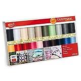 Gutermann 20 x 100m Basic Colours Sew All Thread Set