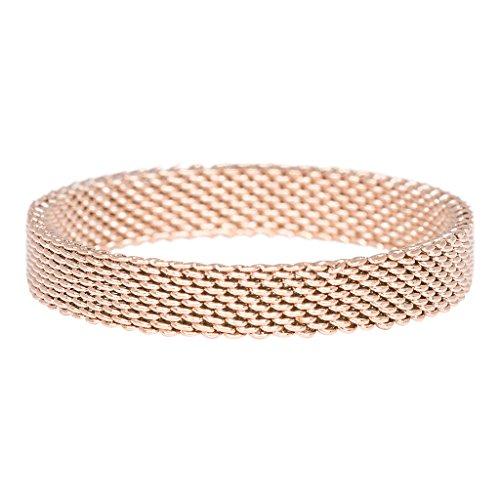 iXXXi Füllring MESH rosé - 4 mm Größe Ringgröße 18 -