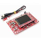 Providethebest Oscilloscopio digitale fai da te portatile mini Oscillograph Fare caso di protezione di saldatura Kit Open Source Pezzi di ricambio