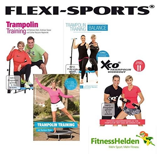 FLEXI-SPORTS-Trampolin-DVDs-im-Super-SPAR-Set