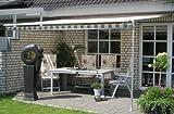 LECO Vlexy Plus Terrassenüberdachung Markise Sonnenschutz Gelenkarmmarkise khaki