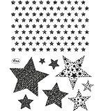 Silikon-Stempel - Sterne