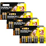 Duracell MN1500 Plus Power Batteries, Size AA (Pack of 32)