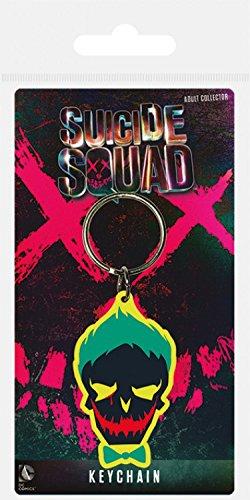 Suicide Squad - Joker Teschio Portachiave (6 x 4cm)