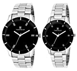 H Timewear Analogue Black Dial Men'S And...