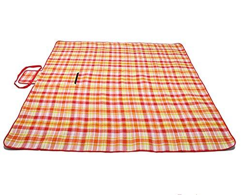 Haushalt Im Freien Wasserdichten Picknickmatte 200 * 200,OrangeGrid
