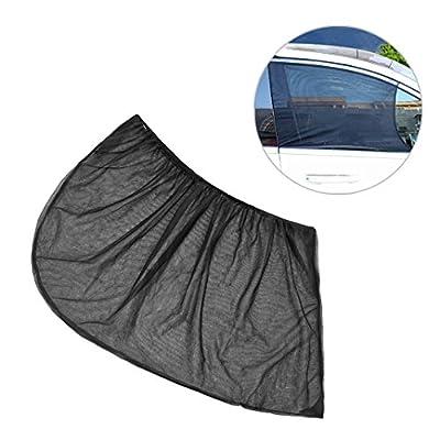 Voiture Pare-soleil Huaforcity fenêtre de voiture Housse de voiture Soleil Blocker pour écrans Baby Sun Block Off rayons UV pour vitre arrière latérale