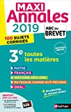 Maxi Annales ABC du Brevet 2019...