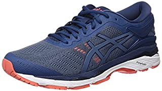 ASICS Men's Gel-Kayano 24 Competition Running Shoes, Smoke Dark Blue 5656, 9.5 UK 44.5 EU (B077W45MTZ) | Amazon price tracker / tracking, Amazon price history charts, Amazon price watches, Amazon price drop alerts