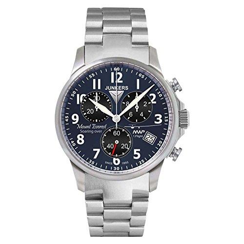 Junkers reloj hombre cronógrafo Mountain Wave Project 6894-M3
