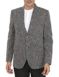 Wintage Men's Linen Two Buttoned Notch Lapel Festive and Casual Blazer - Available in Three Colors