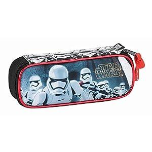 Star Wars Estuche portatodo (SAFTA 811601752), Color Negro y Rojo, 22 cm