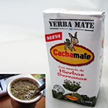 1.1 lbs Cachamate Serranas Herbal Blend Yerba Mate (500g)