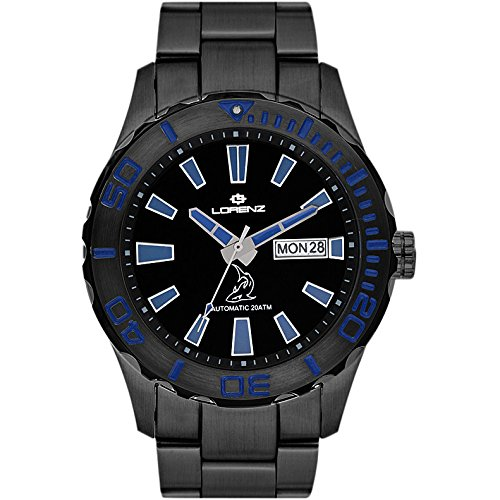Reloj mecánico Hombre Lorenz Shark II deportivo Cod. 030107FF
