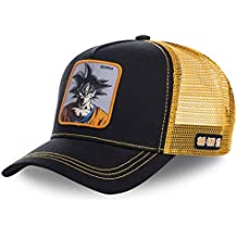 Collabs Dragon Ball Z Goku Trucker Gorra Hombre Negro