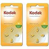 Kodak–Pack de 8Audífonos Batería Tamaño 10(PR70, k10za) 1,45V, Caducidad 03/2017