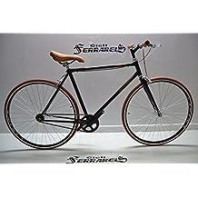 fixed nero marrone / scatto fisso / single speed / fixie