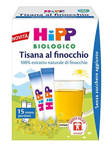 Hipp tisana stick finocchio - 6 confezioni da 5 g