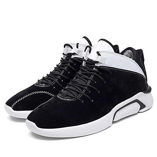 FEIFEI Scarpe da uomo Materiali di alta qualità Inverno Keep Warm Sport e tempo libero Plate Shoes 3 Colors ( Colore : 01 , dimensioni : EU43/UK9/CN44 ) 02