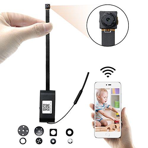 Mini Cámara UYIKOO HD 1080P Wifi Cámara Espía Pequeña Cámara Oculta Soporte de Detección de Movimiento/Grabación de Bucle para la Seguridad del Hogar