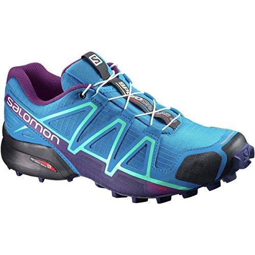 Salomon Speedcross 4 W, Chaussures de Running Compétition femme Multicolore (Hawaiian/astral Aur/grj)