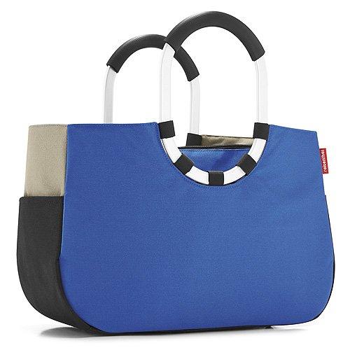 Reisenthel, Borsa Loopshopper, Verde (Grün), 52 cm Patchwork Royal Blue