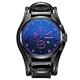CURREN Herren Uhr Analog Quarz mit Leder Armband 8225