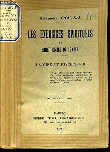 Pdf Les Exercices Spirituels De Saint Ignace De Loyola Histoire Et Psychologie Epub Vishnuivan
