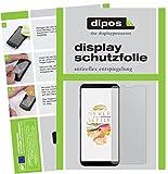 dipos I 6X Schutzfolie matt passend für OnePlus 5T Folie Displayschutzfolie