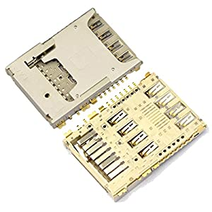BisLinks® Sim Memory Karten Reader Ersatz für LG G3 D850 D855 LS990 G4 H815 EAG63310801