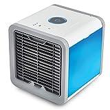 ZAZCB Nuovo Mini Ventilatore USB Ventilatore Portatile Climatizzatore Radiatore Aria Umidificatore Purificatore Colore Blu