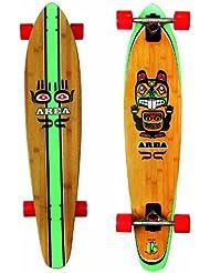 """My Area """"Bamboo"""" - Longboard cool en bambou et érable canadien - longueur 42 pouces"""