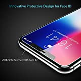 iPhone X Screen Protector Syncwire - [Face ID Full Protective Design] 3-Pack HD 9H Hardness 2.5D Tempered Glass Screen Protectors for iPhone X / 10 [Shatter-Proof, Bubble-Free, 3D-Touch, Case-Friendly, Easy-Install]