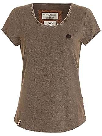 Naketano Damen Fashion Shirt kurz Ballad No.1 III Shirt