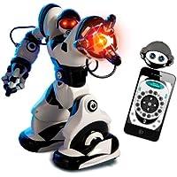 Wow Wee - Robot teledirigido Robosapien X, color blanco y negro (8006)
