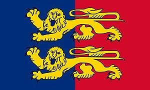 magFlags Drapeau Large Département de la Manche   drapeau paysage   1.35qm   90x150cm