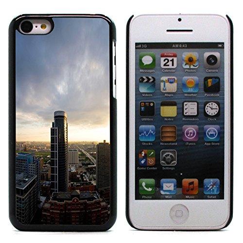 Graphic4You Monaco Postkarte Ansichtskarte Design Harte Hülle Case Tasche Schutzhülle für Apple iPhone 5C Design #11