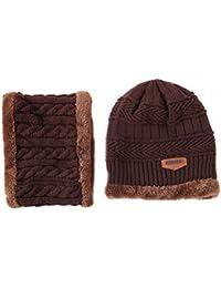 S.CHARMA Cappello Women s Natale Inverno Sciarpa Cappello Cappellino Set 0af00223287a