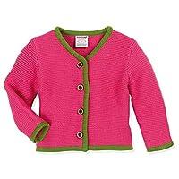 Schnizler Baby Strickjanker Pink Cardigan, 3-6 Months (Size:68)
