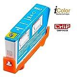 iColor Patronen kompatibel: Patrone für HP (ersetzt CB323EE, No.364XL), cyan (Tinte)