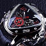 Liandd Sport Design De Mode Géométrique Triangle Bracelet Sangle Hommes Montre Top Marque De Automatique Montre Horloge,