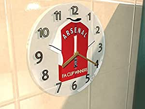 Arsenal FC Football Club–Fa Cup Winners Collection Horloge murale–Champions