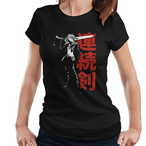 Final Fantasy Squall Leonhart Seed Mercenary Women's T-Shirt (Kunst-animation-programme)