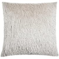 Lanudo Long-Pile Almohada,45*45 Super suave Grueso Borla Sofá casero decorativo Almohada de felpa Con la espalda de franela con Pillow Core 8 colores
