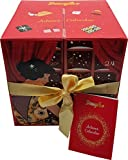 Douglas - Adventskalender - Advent Calendar - Damen - Essentials - Beauty - Kosmetik - Würfel - Rot - 24 Produkte (Pflege, MakeUp, Wellness, Accessoires)