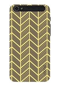 Noise Orange Veins Printed Cover for InFocus M808