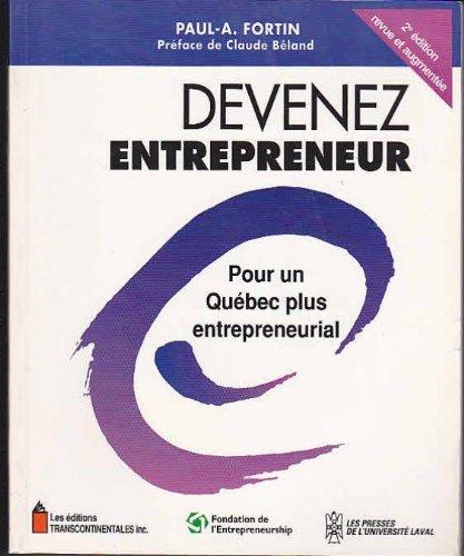 Devenez Entrepreneur pour un Quebec Plus Entrepreneurial