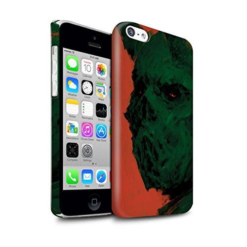 Offiziell Chris Cold Hülle / Glanz Snap-On Case für Apple iPhone 5C / Herzensucher Muster / Wilden Kreaturen Kollektion Ungeheuer/Troll